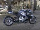 Split Faced, 6 cylinder Cafe Racer - BMW Concept6