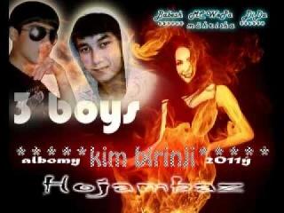 3 boys & mahrisha-Hojambaz (turkmen clips).flv