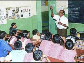 Indian teacher explaining the word Fuck