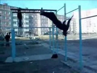 AgressoR Team новое от Em`Mil [parkour & street acrobatic of New Urengoy city]