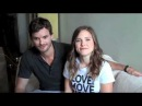 Austin Nichols Sophia Bush send a message to the Colingwood Run Site for the CIBC Run for the Cure