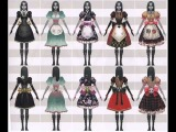 Alice Madness Returns - Dresses & Special Queen of Hearts
