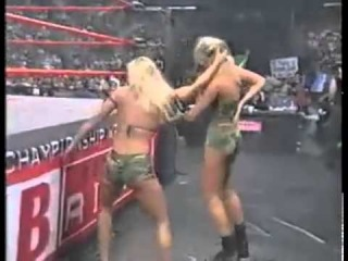 Miss Hancock vs Major Gunns Bra and Panties Match