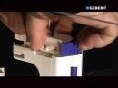 Монтаж смывного клапана для керамических бачков Impuls280