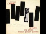 HORACE PARLAN, Up In Cynthia's Room (Parlan)