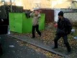 Обычный случай в одном из спальных районов Красноярска