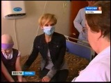 Ксюша Киселева и певица Валерия (Вести-Пермь)