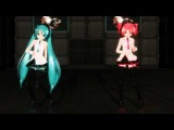 MMD Cup 7 [MikuMikuDance] BadApple!! feat Miku&Teto