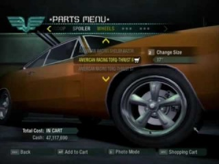 NFS Carbon Dom Toretto 1969 Dodge Charger