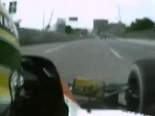 F1 1991 Phoenix Ayrton Senna ONBOARD LAP