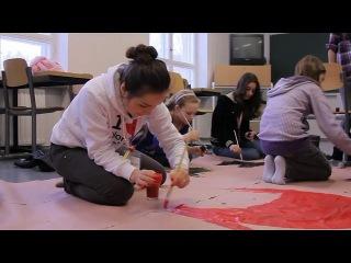 Фильм о зимних каникулах  в детских языковых лагерях