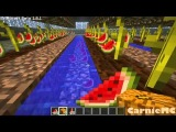 Minecraft automatic pumpkin/ melon farm!