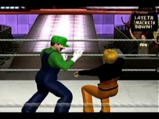 SvR 2010 - Naruto & Pikachu vs The Mario Bros. - Elimination tag