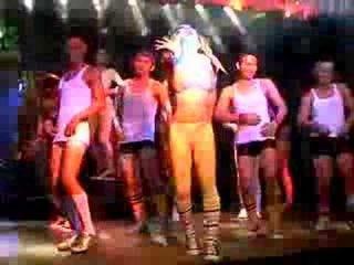 Трансвестит шоу, Таиланд остров Самуй