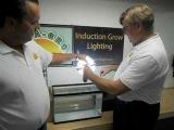 Герметичность и безопасность Индукционной лампы, лутшая среди всех источников искусственного света.