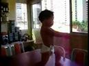 Bimbo - Waka Waka-Shakira can't dance like this.