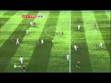 barcelona 5-0 real madrid, busquets and iniesta, -29/11/10-