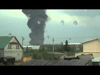 Взрыв Резервуара с нефтью (РВС) 20 000 куб. г. Тында