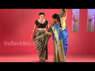 ૐ ВЕДИЧЕСКИЙ МИР ૐ vk.com/vedmir How to wear a saree in Ceylonese dancer style, India