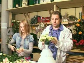 мастер класс составление каскадного свадебного букета