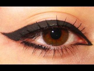 Дневной макияж глаза