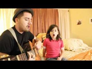 Папа и дочка поют дуэтом 3