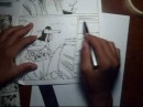 Как рисовать манга линиях