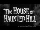 HOUSE ON HAUNTED HILL TRAILER 1959 VINCENT PRICE