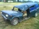 Crush avto vaz 2104 краш тест ржавой ВАЗ 2104
