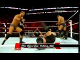 WWE Monday Night Raw 16.05.2011 - David Otunga &amp Michael McGillicutty vs Big Show &amp Kane