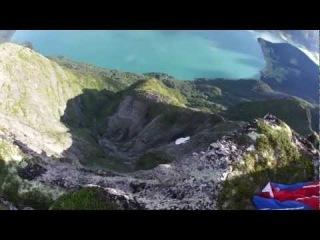 Безумный полет над скалами