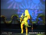 Елена Шеремет в MAGERIC. Волшебный Саксофон.