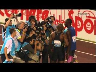 100m Usain Bolt-Asafa Powell IAAF Diamond League Roma - 2011