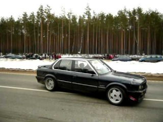 Fiat Uno 2.0 vs BMW e30 m30b34 part 2