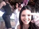 Kim Kardashian  Kendall And Kylie Singing Nicki Minaj Super Bass VIDEO)
