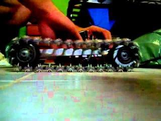 Самодельные гусеницы для робота