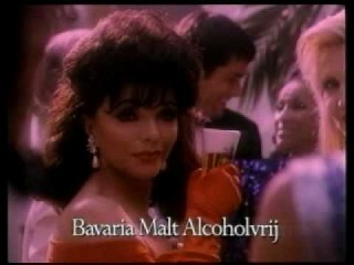 Bavaria Malt commercial with Joan Collins (early 90s)