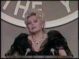 Zsa Zsa Gabor roasts Joan Collins