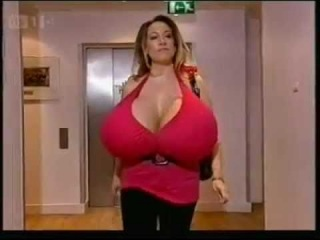 Massive Boobs on This Morning-Philip Schofield Robson Green Blush at Chelsea Charms breasts