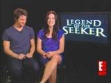 Craig Horner & Bridget Regan  SPOILERS for season 2