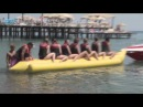 Funny Banana Boat - Hotel Lara Beach - best 5 star all inclusive resort Antalya Turkey Turkei fun
