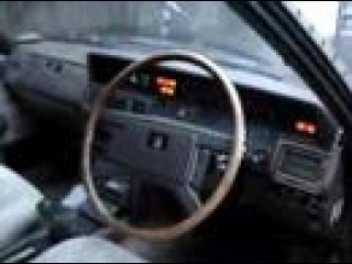 1981 Toyota Mark II Corona speaks in reverse