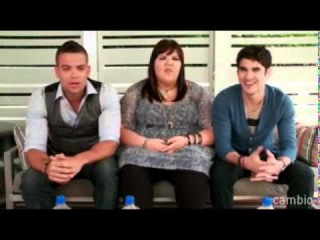 LiveChat with Darren Criss, Mark Salling & Ashley Fink