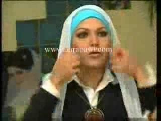 Hidzab Stil 2-Hijab Style 2