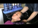 Hair Wash with LANZA Treatment and Sexy Blow Dry.of Denise .( Theo Knoop production )