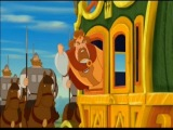 "Отрывок №1 из мультфильма ""Три богатыря и Шамаханская царица"""