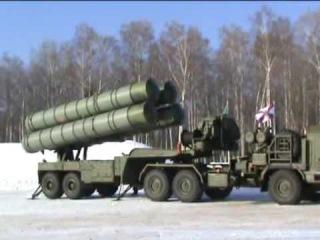 Ракеты С-400 на страже московского неба