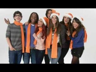 New Year Nickelodeon 2011 - Jingle Bells в исполнении звёзд телеканала+поздравление героев сериала Виктория Победительница