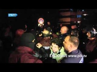 Эксклюзив: Задержание сына Нино Бурджанадзе