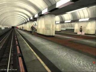 Люблинская линия от Pro100lex. Презентация готовых станций (для Trainz 2010)